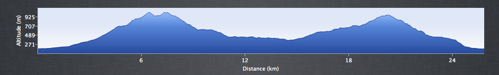Snowdon Beast - Elevation Profile