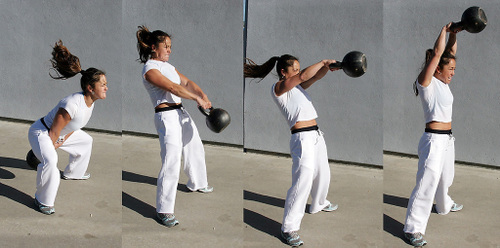 The American Kettle Bell Swing