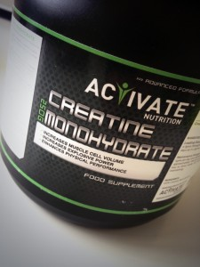 Activate Nutritions' Creatine Monohydrate Powder